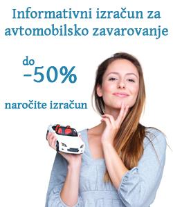 Izračun zavarovanje avtomobila